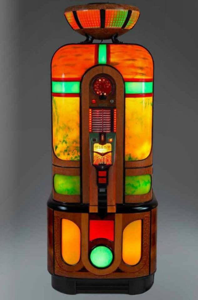 A 1942 Rock-Ola Commando Jukebox