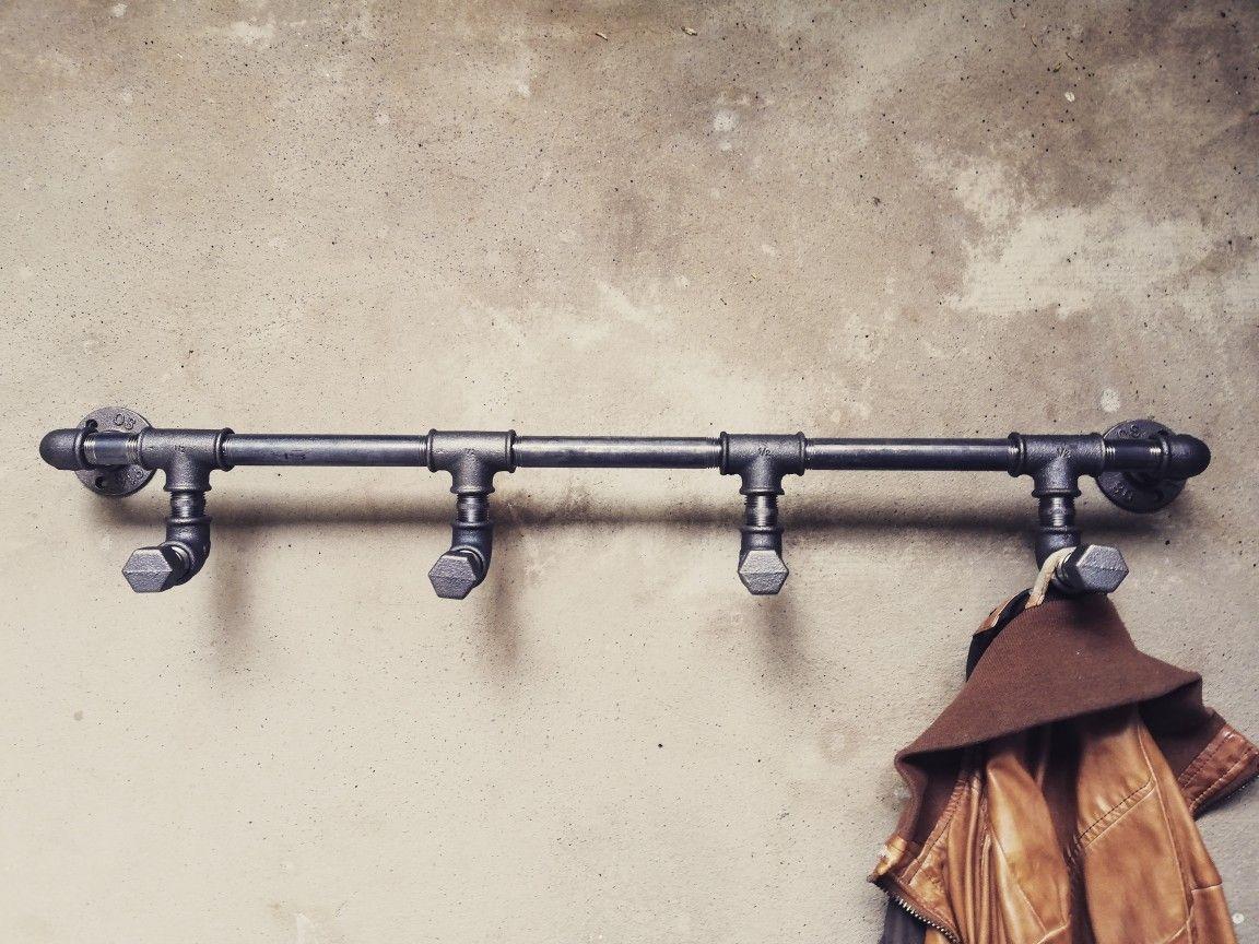 Garderobenhaken Wandgarderobe Industriedesign Garderobe Vintage Steampunk