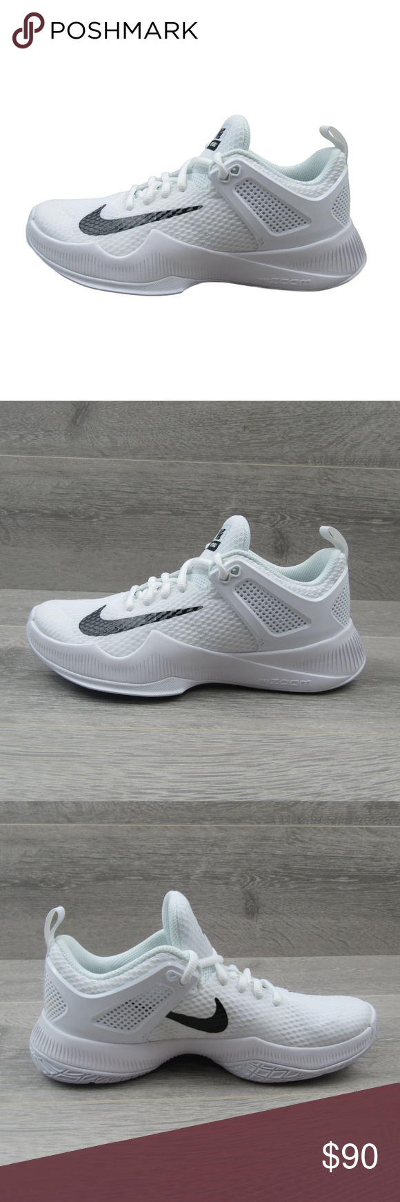a2a4b6be7878 Nike Air Zoom Hyperace Size 6.5 Volleyball Shoes Nike Air Zoom Hyperace  Volleyball Shoes White Style - 902367-100 Women s Size 6.5 New without  Original Box ...