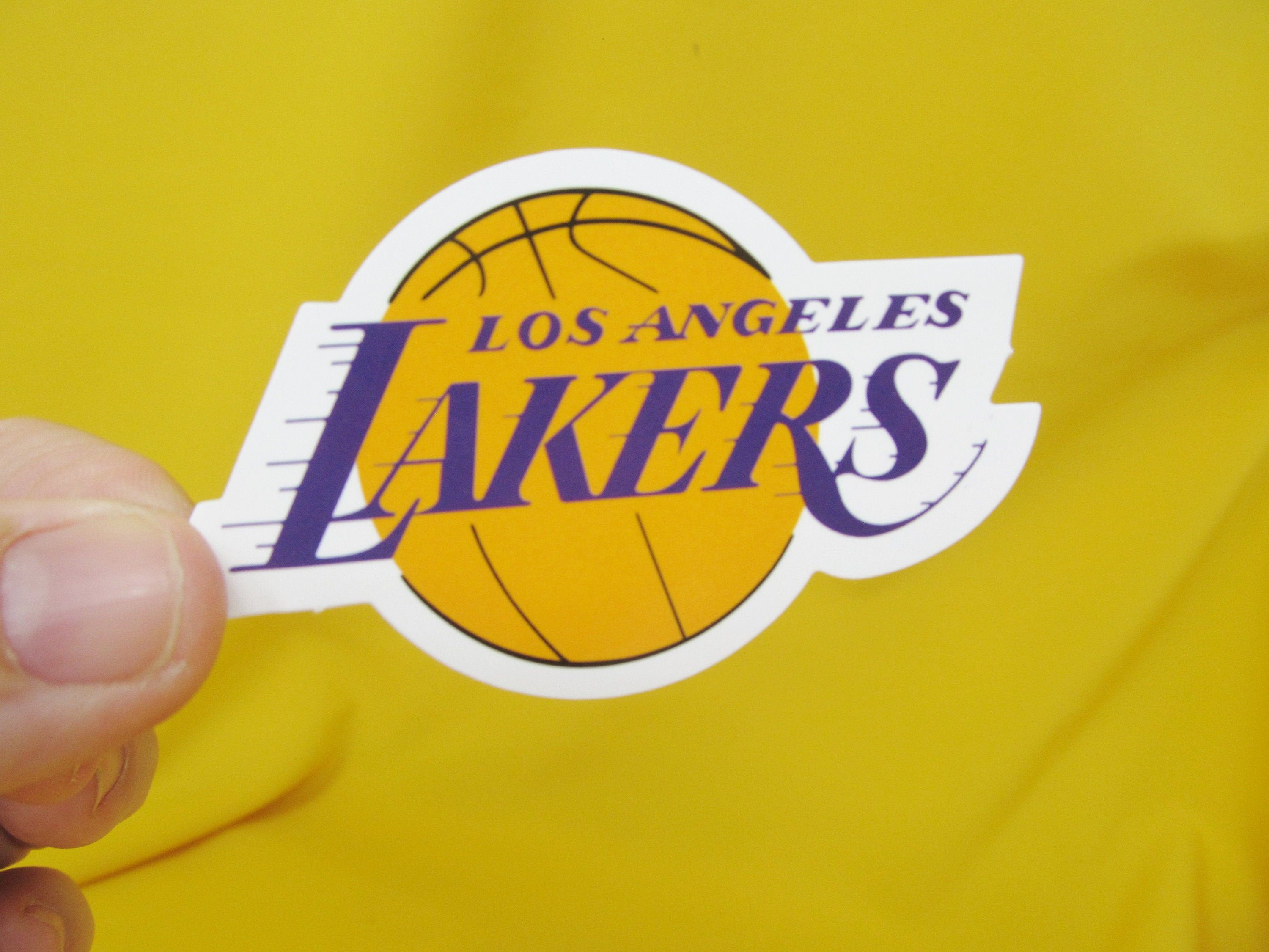 Los Angeles Lakers Sticker Great For Your Laptop Etsy Los Angeles New Sticker Los Angeles Lakers [ 2250 x 3000 Pixel ]