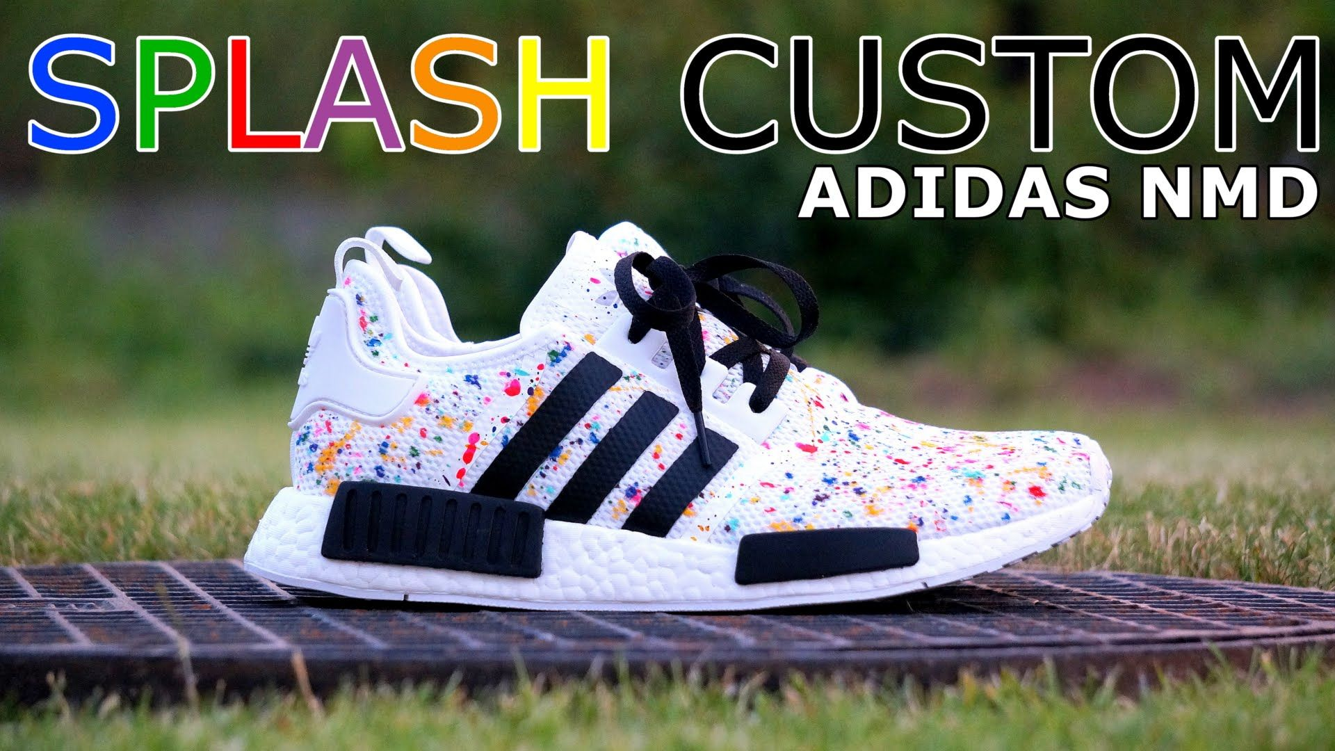 3bebbcdd4fb coupon code for poradnik tutorial adidas nmd multicolor splash custom  angelus paint c7227 af84c