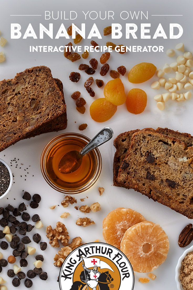 Build your own banana bread recipe generator breadsgrains build your own banana bread recipe generator forumfinder Image collections