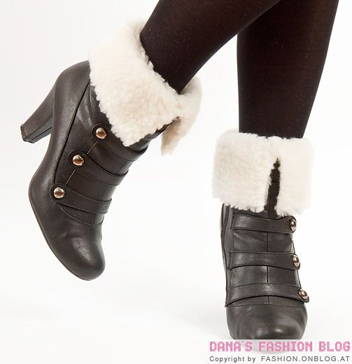 DIY Tutorial: Shearling Trend - Removable Fur Shoe Cuffs for Ankle Boots