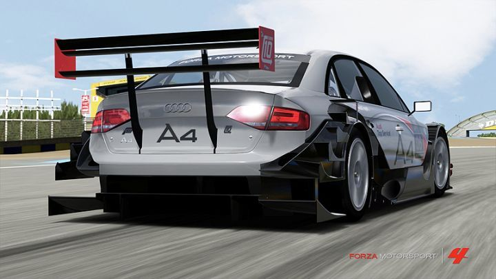 2011 Audi A4 Touring Car #6 B8 [Typ 8K] in Forza Motorsport 4,