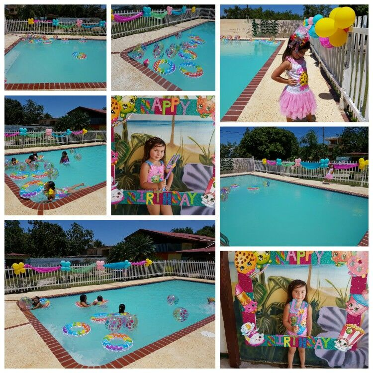 Indoor Pool Party Ideas printable pool party splash pad chalkboard ticket birthday invitation water park invite playground Jeannys Shopkins Pool Party