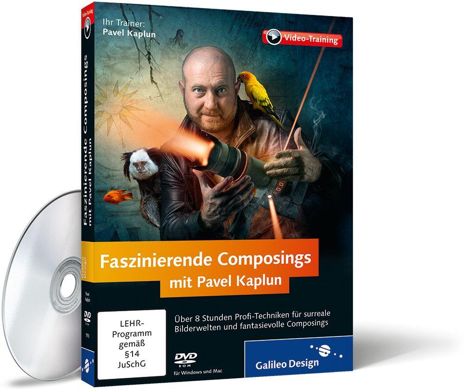 Cover zum Video-Training Faszinierende Composings mit Pavel Kaplun vergrößern