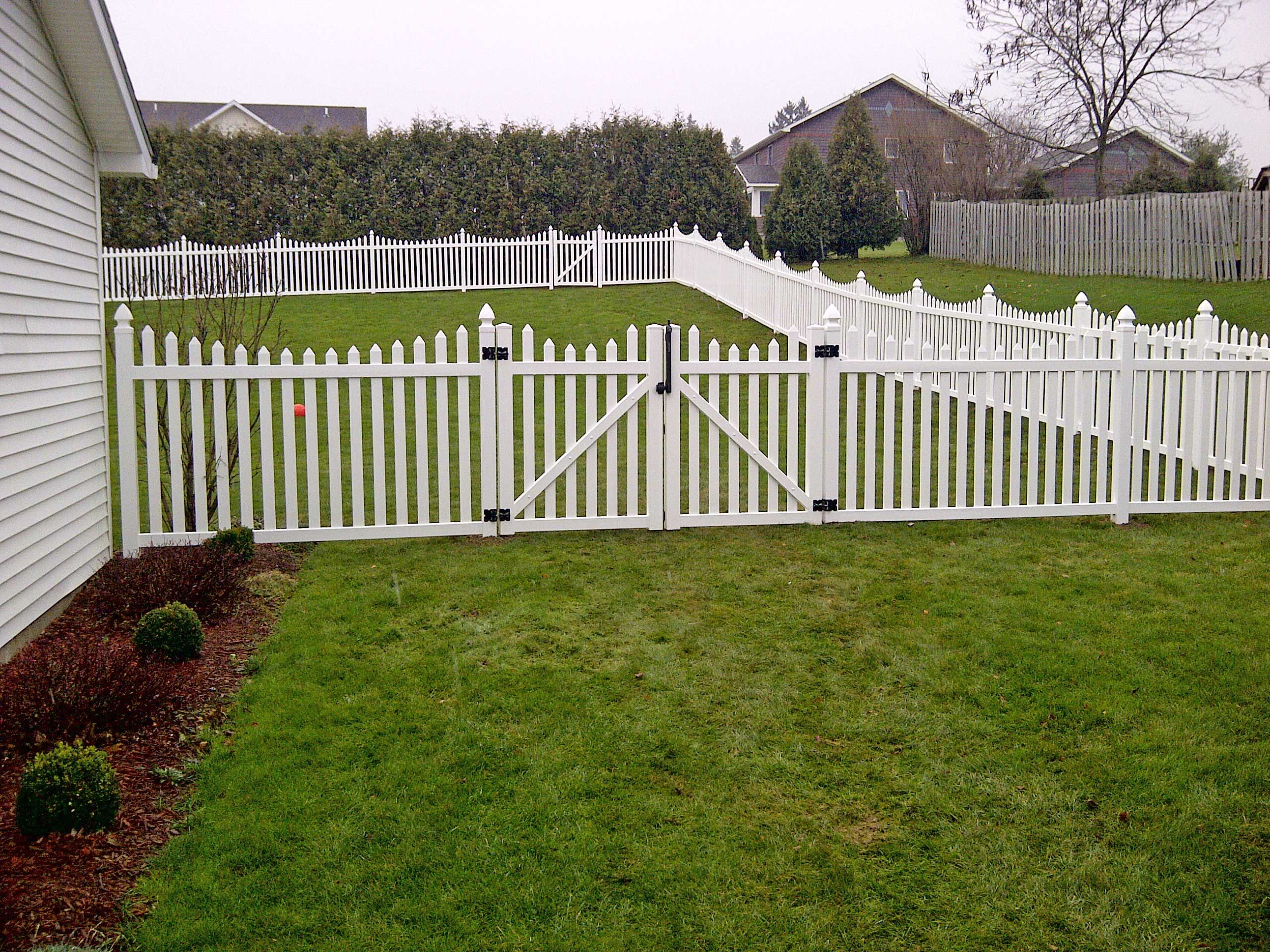 Best White Fence For House Vinyl Fencing Sale On Uk