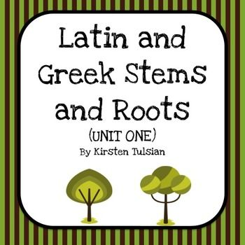 Latin Stems And Roots 103
