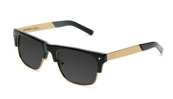 7ac5a557b1 9five Watson 2 Black & Gold Polarized | Goods | Sunglasses, Black ...
