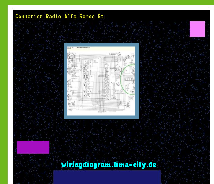 Connction Radio Alfa Romeo Gt  Wiring Diagram 185716