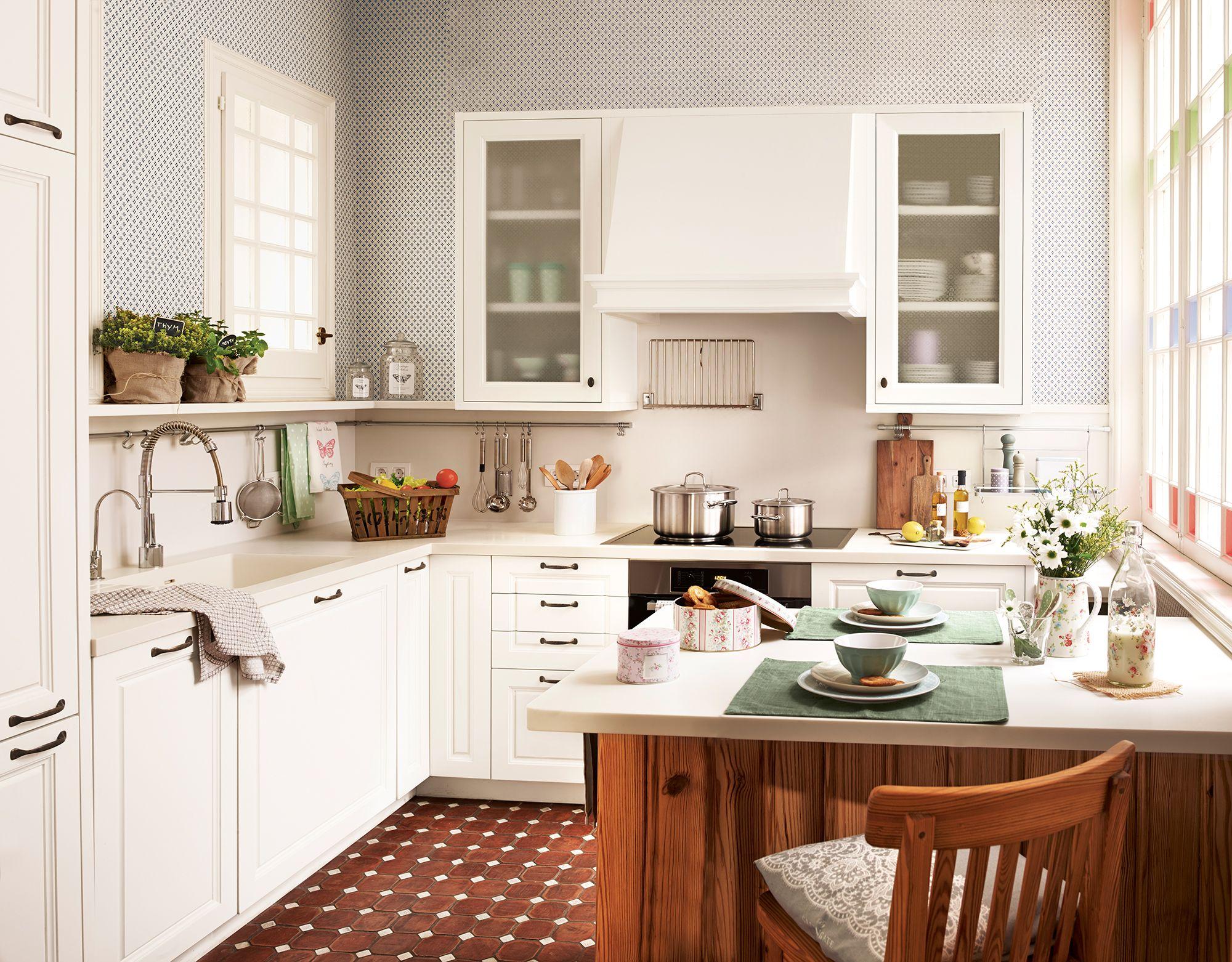 Pin de ustava51 en Кухня | Pinterest | Cocina blanca clásica, Blanco ...