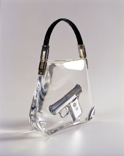 63800b5cf8 ipocrisia  Ted Noten Superbitch Bag 2000 Work  Gun casted in acrylic ...