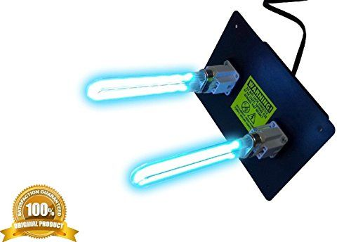 Air Purifier Uv Light For Ac Hvac Ultravaiolet Dual Lamp Duct Air Cleaner Deal Power 120 50 60hz This Is A Powerful Uvc Unit That Are Rated For Air Systems 1