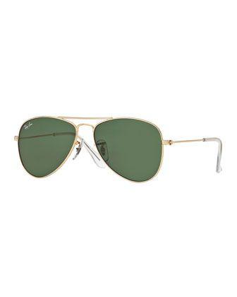 0b692a8bdc Children  s+Metal+Aviator+Sunglasses