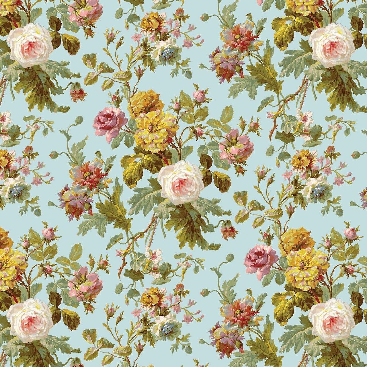 Vintage Floral Wallpaper Pattern Vintage Floral Wallpapers Vintage Flowers Wallpaper Floral Pattern Wallpaper