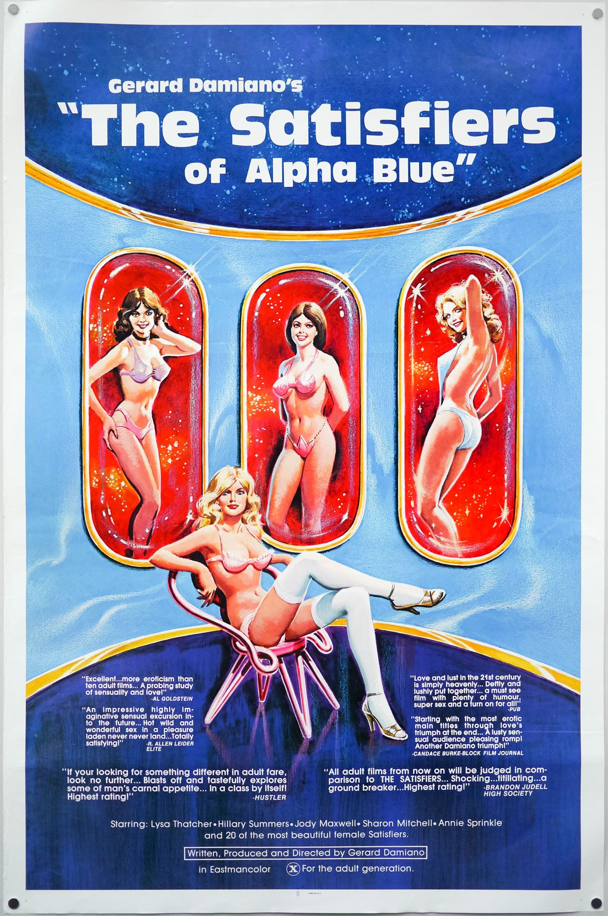 Alpha Blue Movie the satisfiers of alpha blue (1980) | 42nd street in 2019