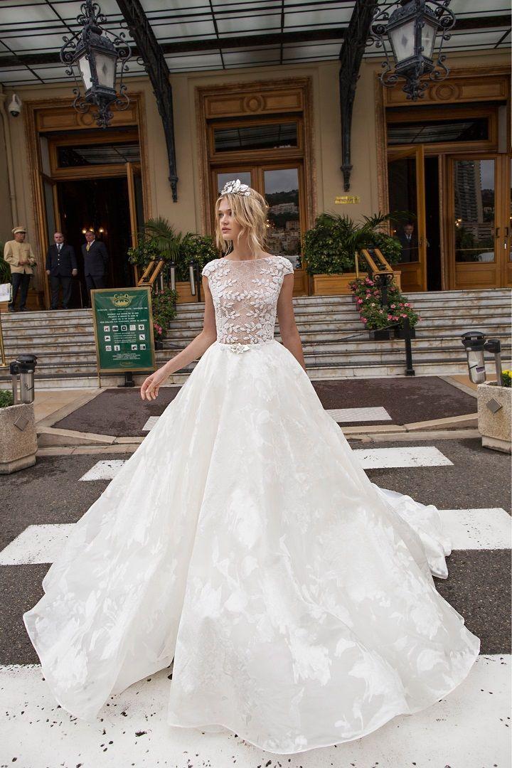 Johanna Johnson wedding dress for a Classic Vintage Summer Wedding ...