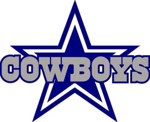 dallas cowboys women s association hosts charity u201cyard u201d sale rh pinterest com cowboys logos free cowboys logos free