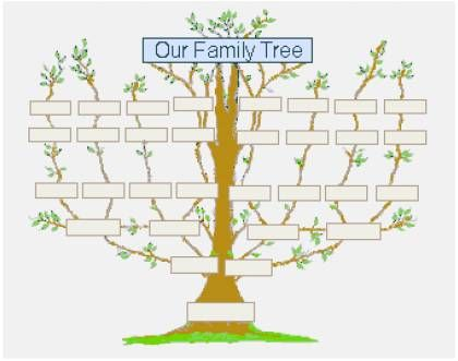 printable family tree for child greentegrationcom home