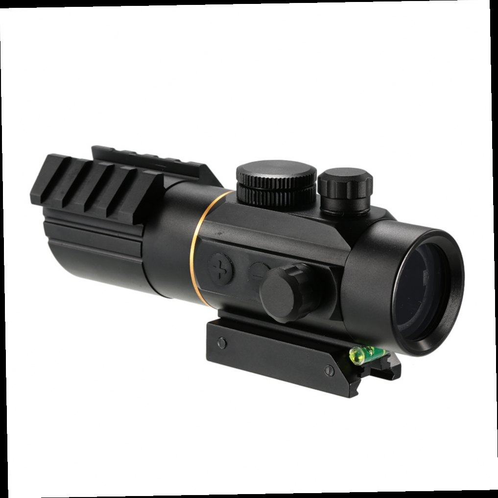 43.86$  Buy here - http://aliuy5.worldwells.pw/go.php?t=32771089698 - 3X42 Tactical Riflescope Red Green Dot Sight Scope Fit Rail Mount 11mm/20mm Hunting Shooting Riflescope 43.86$