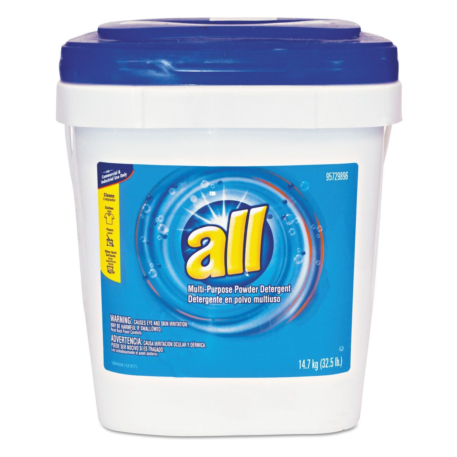All All Purpose Powder Detergent 32 5 Pound Tub Cleaning