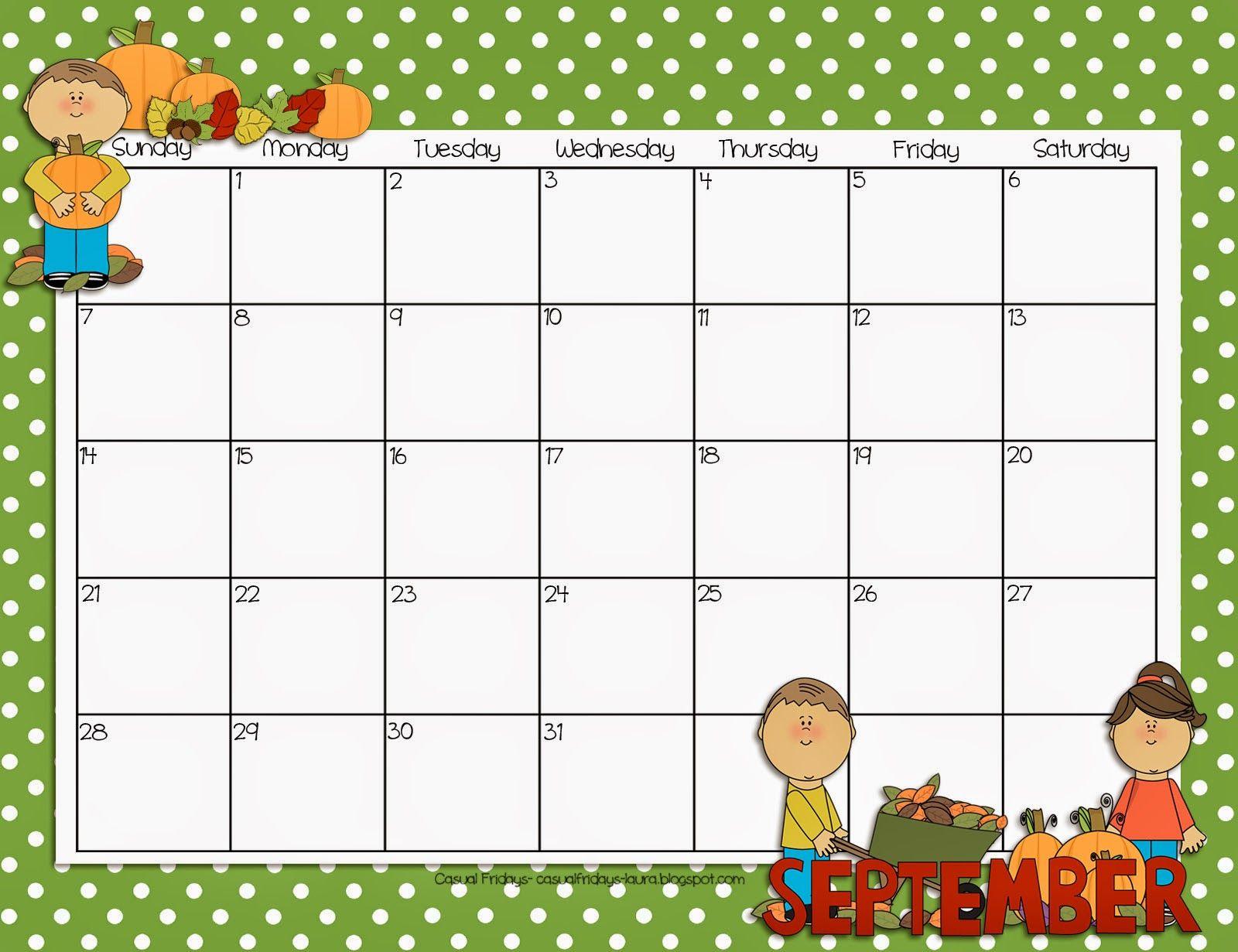 It S Official Tpt Kids Calendar Calendar Printables