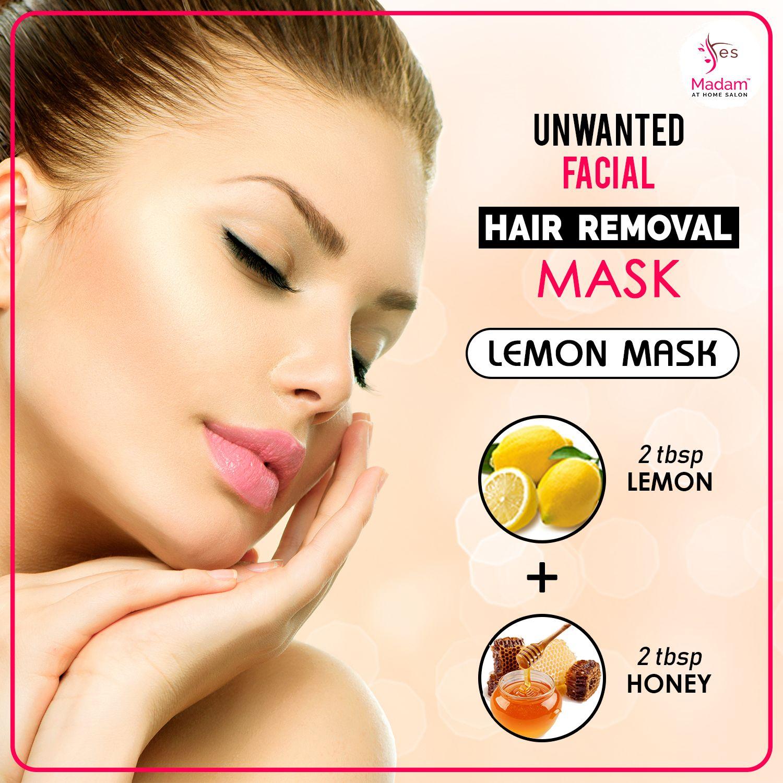 DIY FacialHairRemovalMask lemonmask Mix both