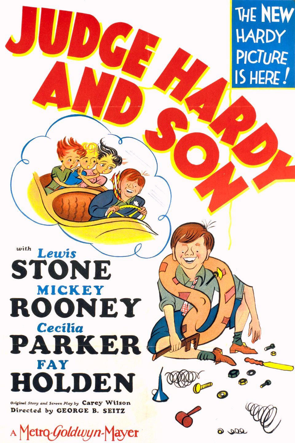Judge hardy and son 1939 starring mickey rooney lewis