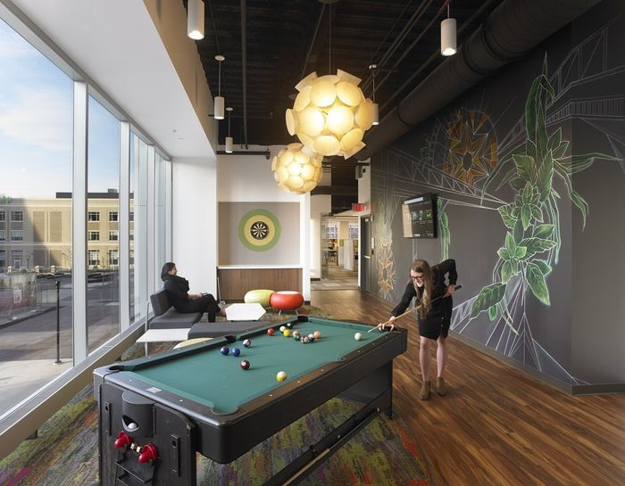 Bergmann Associates Offices   Rochester   Office Snapshots | Modern Pool |  Pinterest | Modern Pools, Pool Designs And Pool Table