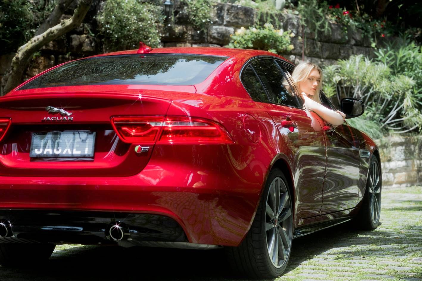 Gemma Ward, Jaguar's newest brand ambassador Car brands