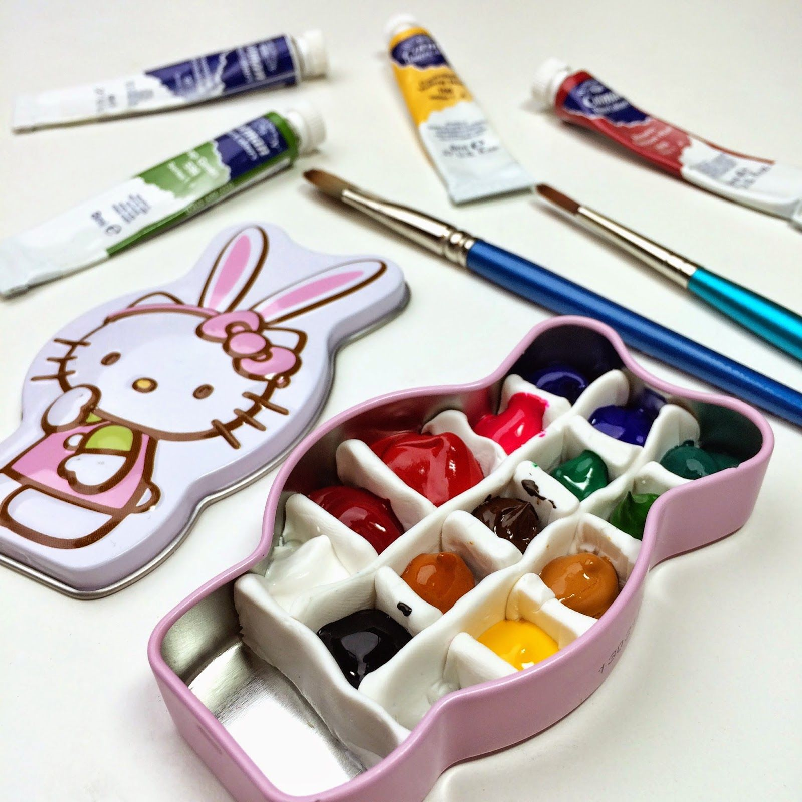 How To Make A Tiny Watercolor Tin Set Of Your Own Tutorial By