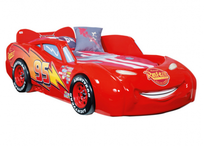 disney cars piston cup autobed met matras cups and bureaus. Black Bedroom Furniture Sets. Home Design Ideas