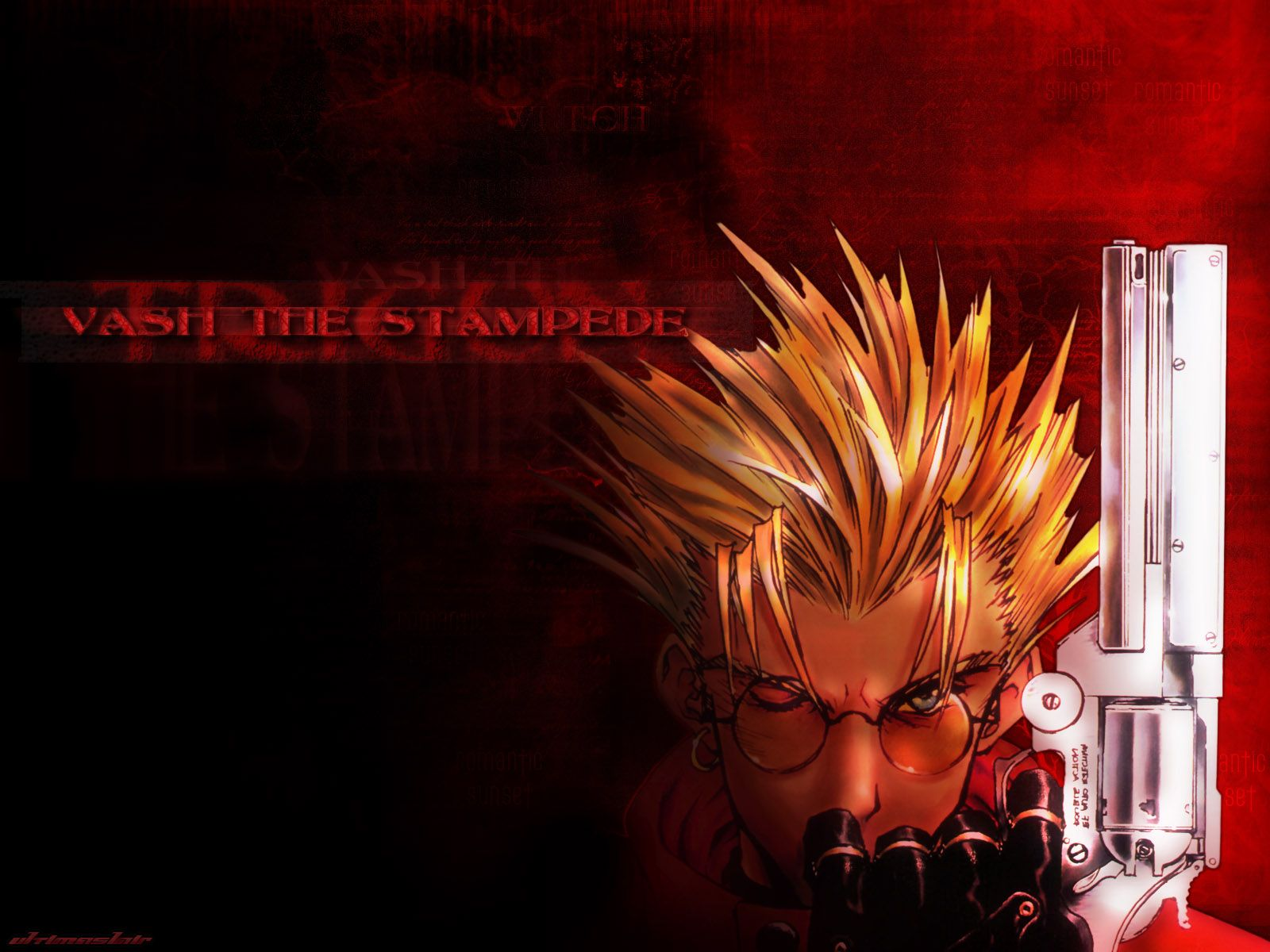 Trigun Computer Wallpapers Desktop Backgrounds 1600x1200 Id 690763 In 2020 Trigun Background Images Animation Quotes