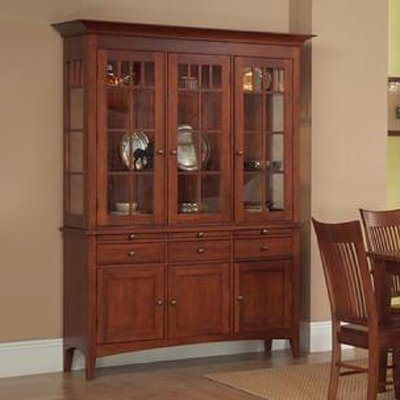 Bon AYCA Furniture Heirloom China Cabinet This China Cabinet By AYCA Furniture  Has A Cognac Finish.