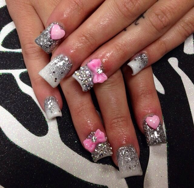 baby showers baby shower nails shower ideas nail shop hair ideas