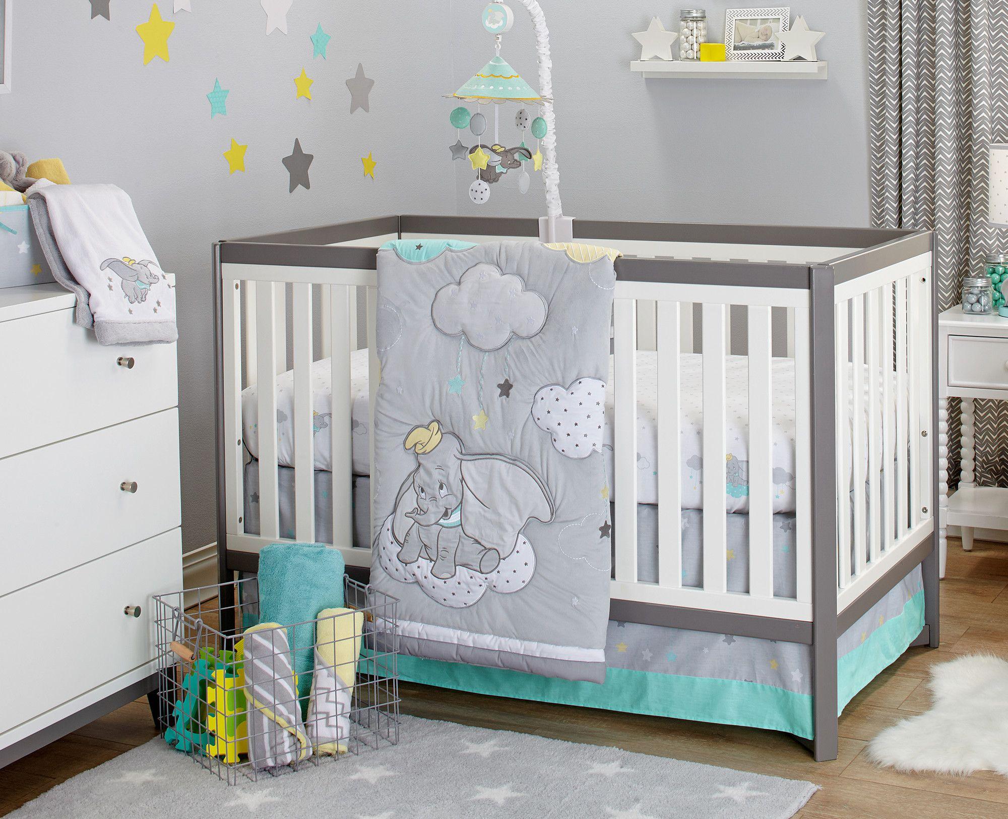 Dumbo Dream 3 Piece Crib Bedding Set