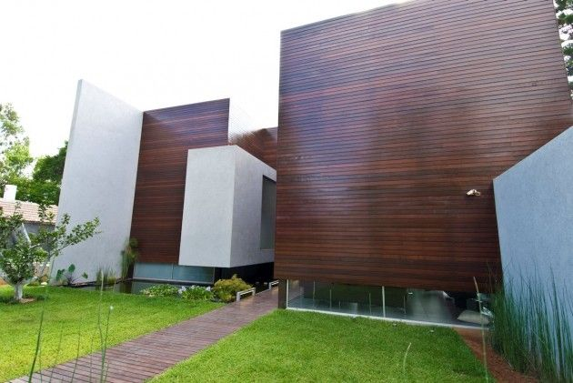 Wooden Concrete House by Nestor Sandbank » CONTEMPORIST