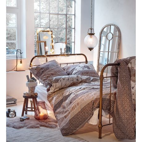bett shabby chic metall katalogbild wohnen. Black Bedroom Furniture Sets. Home Design Ideas