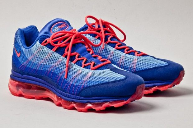Nike Air Max 95 DYN FW Ultramarine Blue Solar Red