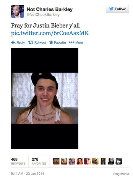 THE INTERNETS BEST REACTIONS TO JUSTIN BIEBERS ARREST Humour - Best reactions to justin bieber arrest