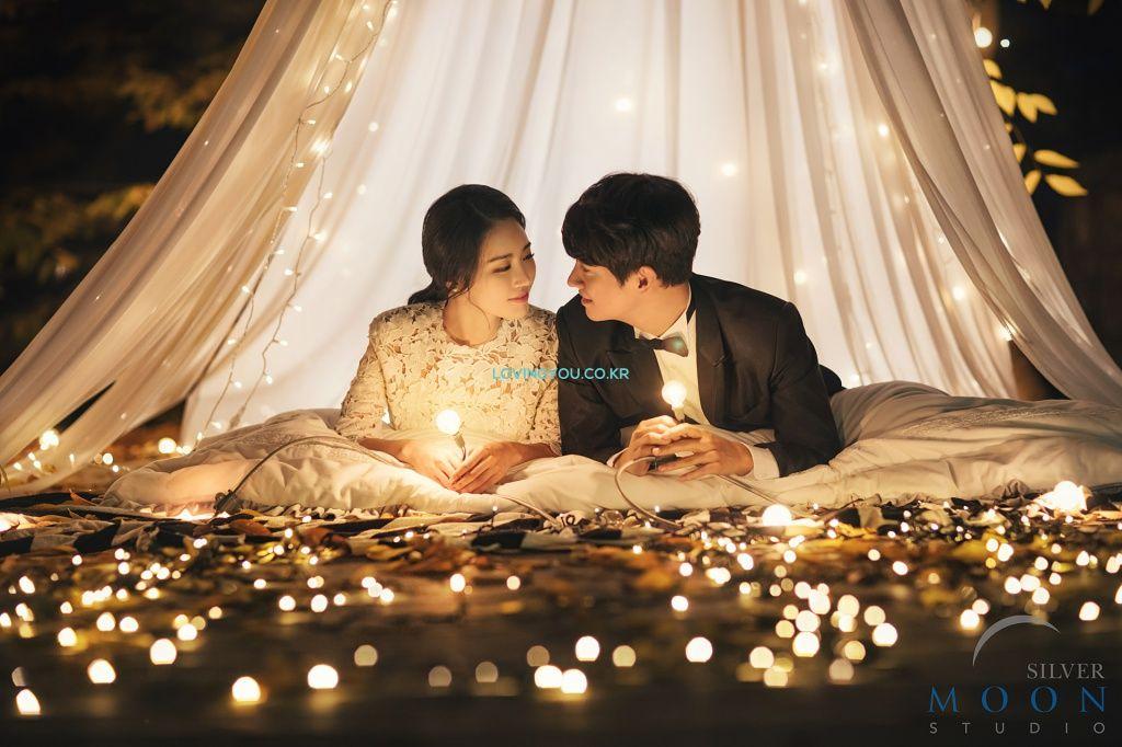 SILVERMOON [MINETTE] - KOREA PRE WEDDING PHOTOSHOOT by LOVINGYOU