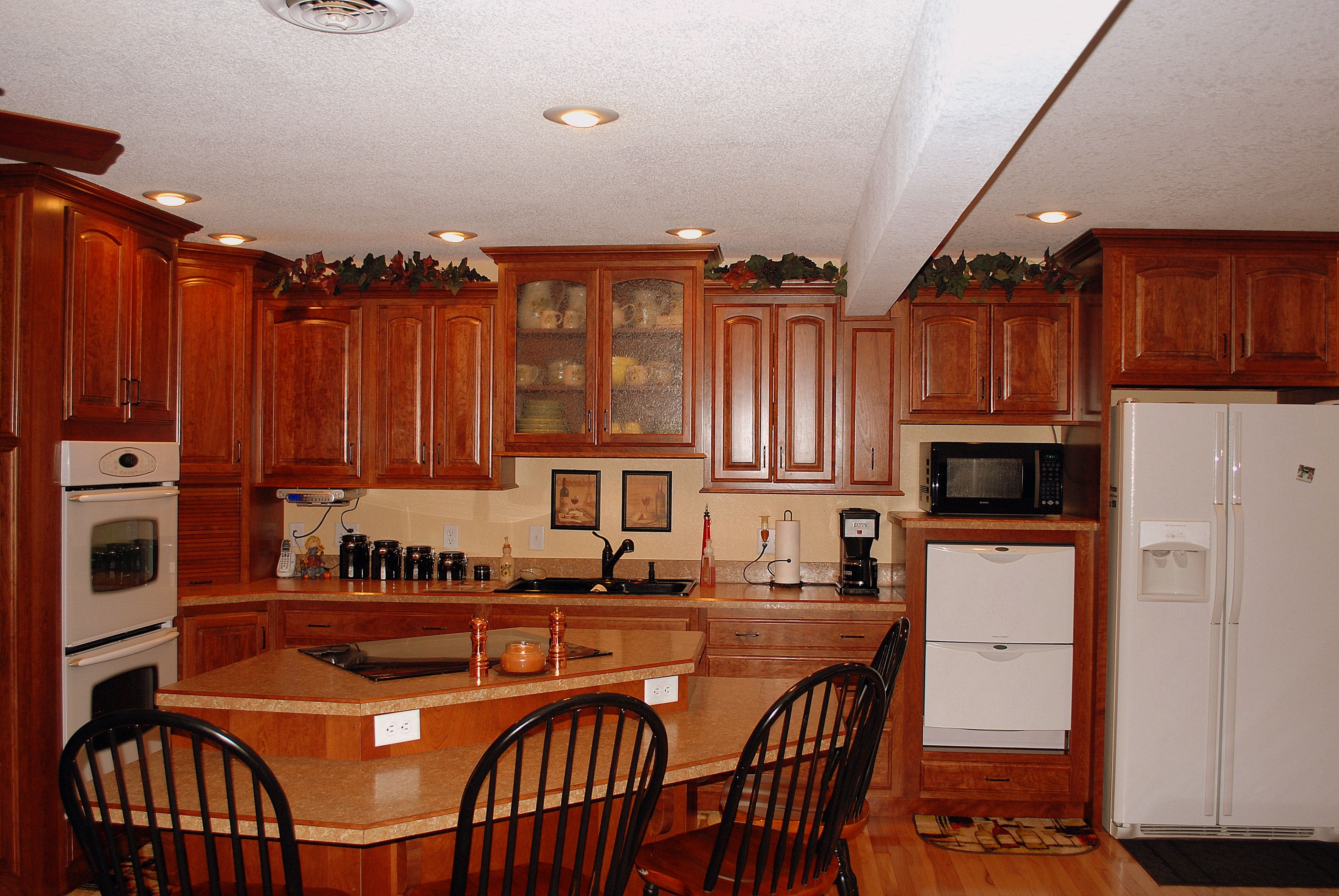Perfect Cherry Cabinetry By Forever Cabinets By Kendrick. Www.forevercabinets.com