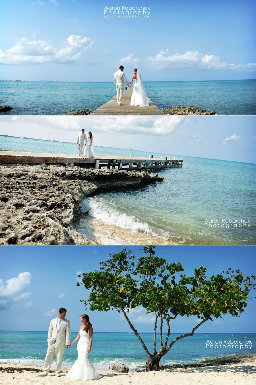 love these Grand Cayman wedding shots!