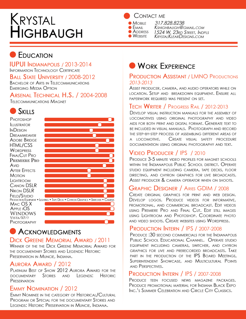 Resume design | AriesGDIM | Pinterest