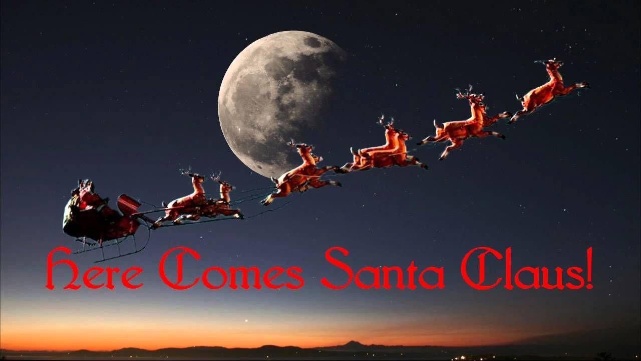 Here Comes Santa Claus ~ Gene Autry (+playlist) | random likes ...