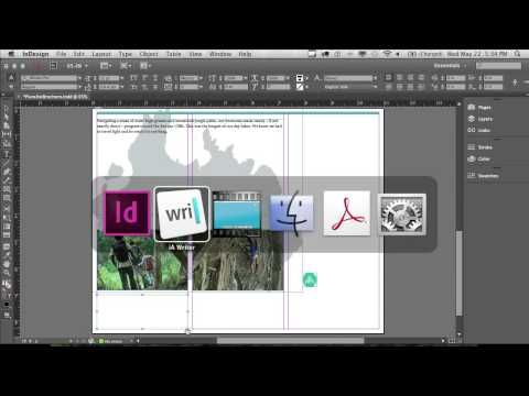How to make a brochure with InDesign | Adobe InDesign CC