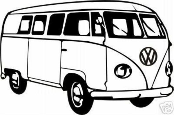 Vw Hippie Van Clipart Cliparthut Free Clipart | Cricut/Craft Room ...