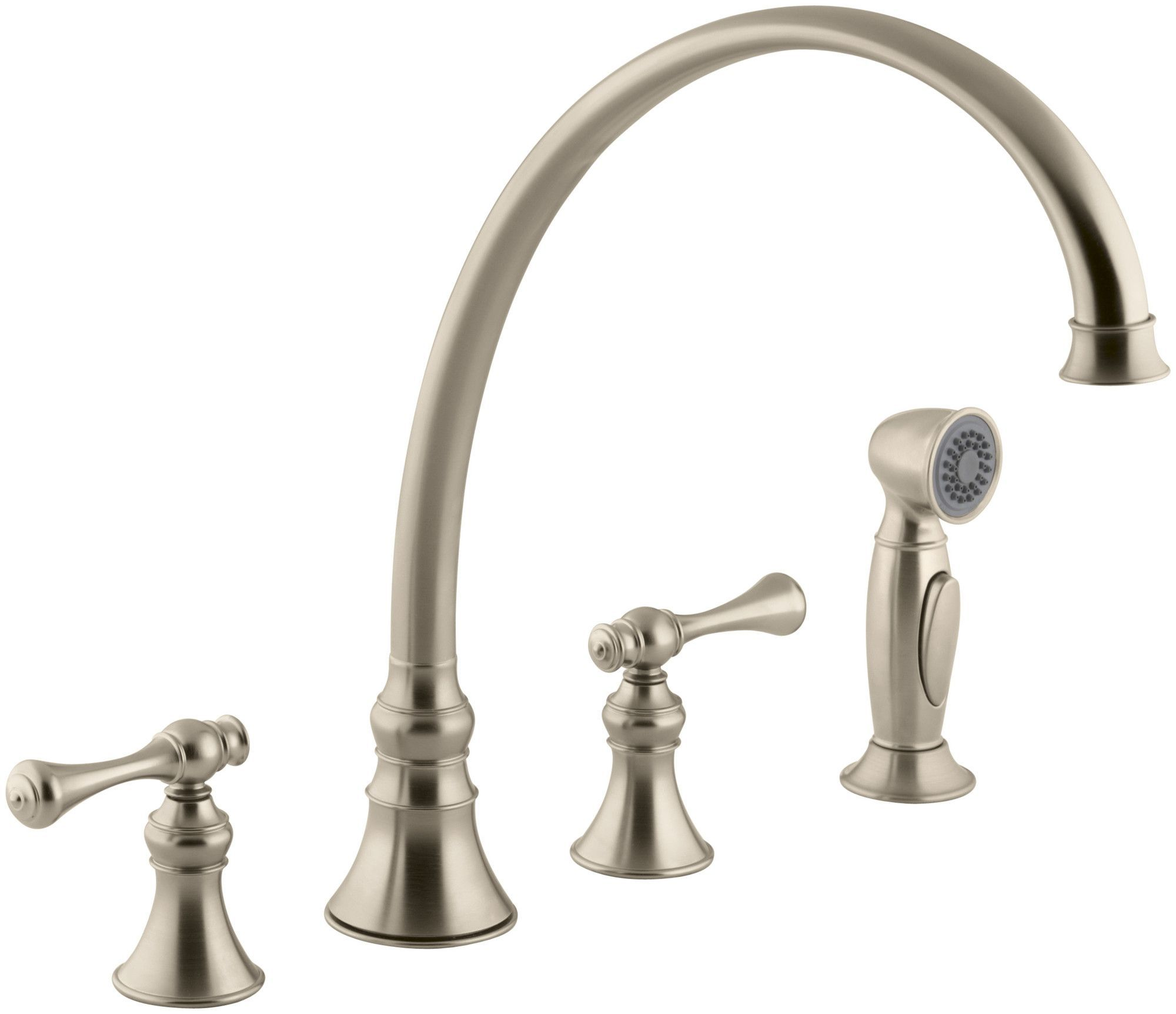 Revival 4-Hole Kitchen Sink Faucet with 11-13/16\