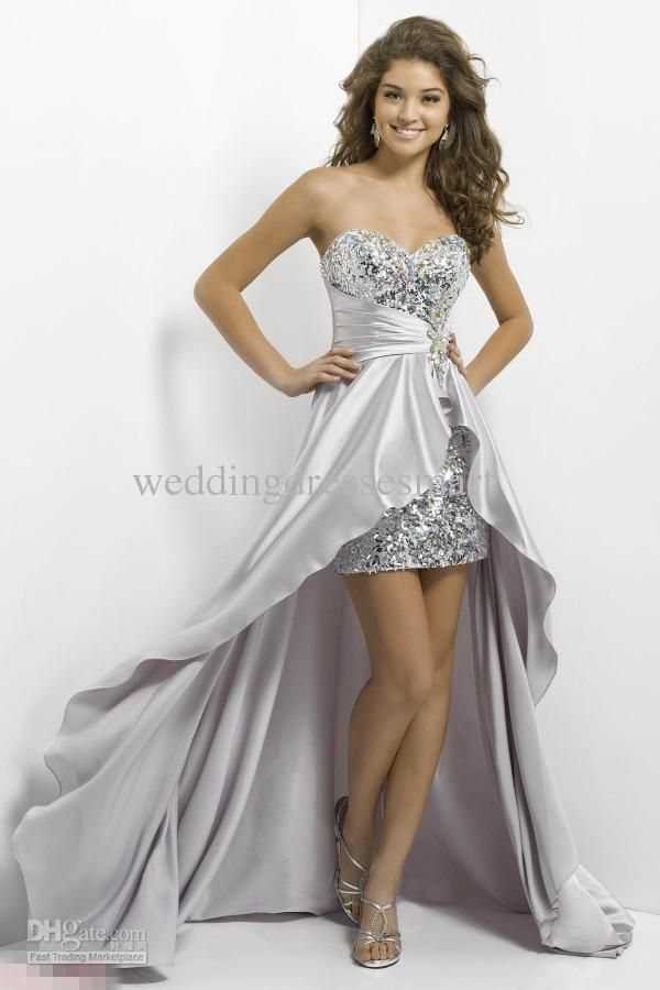 cheap high low pink prom dresses | High Low | Pinterest | High low