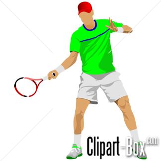 Clipart Tennis Player Clip Art Vector Design Vector Free